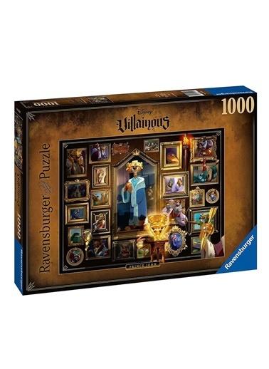 Ravensburger 1000 Parça Puzzle WD Villainous Prens John 150243 Renkli